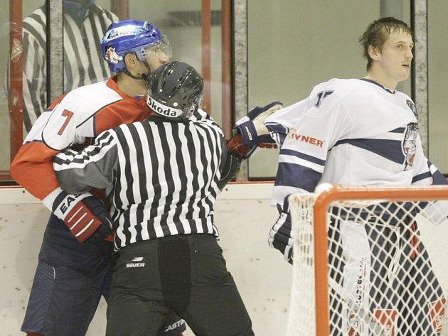 HC ČSOB Pojišťovna Pardubice - Bílí tygři Liberec 0:3