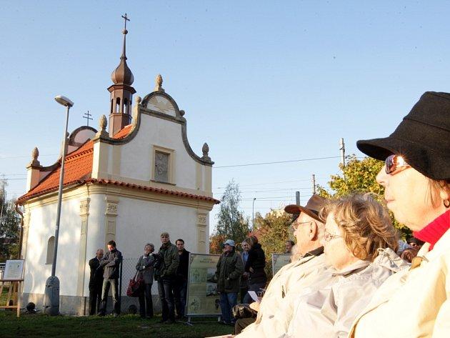 Kaple svaté Anny se dočkala vysvěcení a slavnostního otevření veřejnosti.