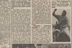 Patnáctá strana Pardubických novin ze dne 12. října 1992.