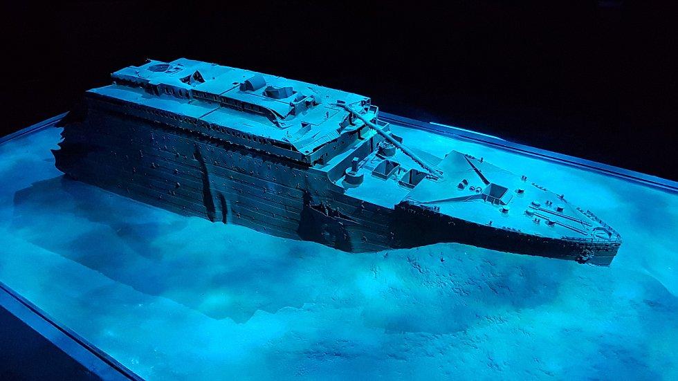 Z výstavy Titanic, která se v roce 2018 konala na brněnském výstavišti. Foto: Deník/Racek Attila