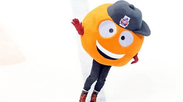 Maskotem pardubického šampionátu je postavička inspirovaná hokejbalovým míčkem. Jmenuje se Bendy.