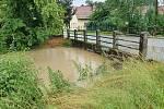 Vydatný déšť zvedá hladiny říček - Holicko