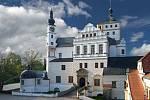 Pernštejsnký zámek v Pardubicích. Foto:
