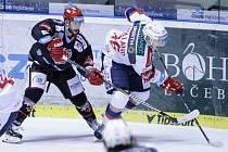 Rhett Holland v dresu HC Dynamo Pardubice.