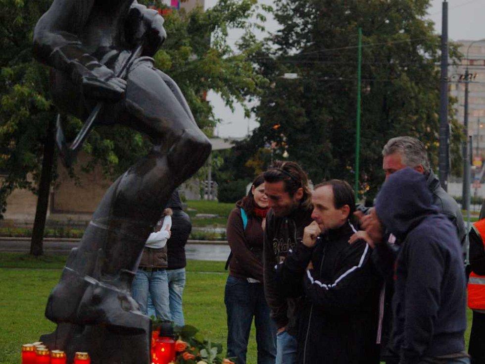 Miroslav Hlinka, Libor Hovorka a Miloš Říha