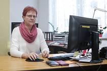 Starostka Chvaletic Zdeňka Marková.