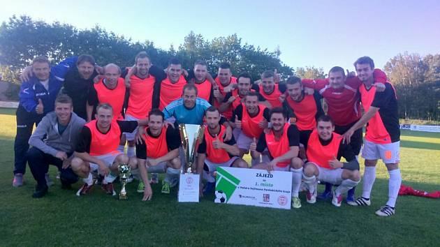 Finále fotbalového Poháru hejtmana: Radují se Slatiňany