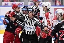 HC Dynamo Pardubice - HC Oceláři Třinec - Finále play off hokejového poháru Generali Česká Cup