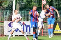 Pardubice se jako nováček Juniorské ligy poprvé představily na domácím hřišti. Na úvodní branku plzeňského Hory dokázal zareagovat Janecký, jenž proměnil penaltu. Šest minut před koncem však Plzeňští přidali druhou branku, která byla vítězná.