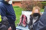 Žena kopala do řidiče MHD. Místo autobusem tak jela se strážníky na záchytku.