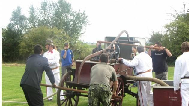 Sbor dobrovolných hasičů Rokytno oslaví vpříštím roce 140 let od svého založení. Foto: ČEZ