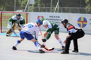 HBC Autosklo H.A.K. Pardubice B vs. Malenovice.