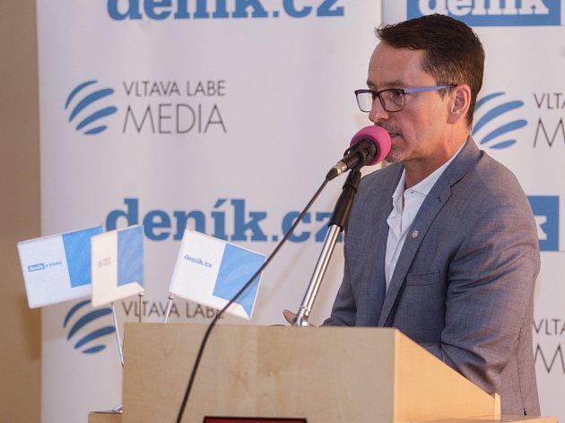Konference Pardubice 2030 v zasedacím sále pardubické radnice.