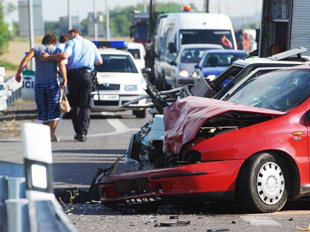 Dopravní nehoda u Dražkovic