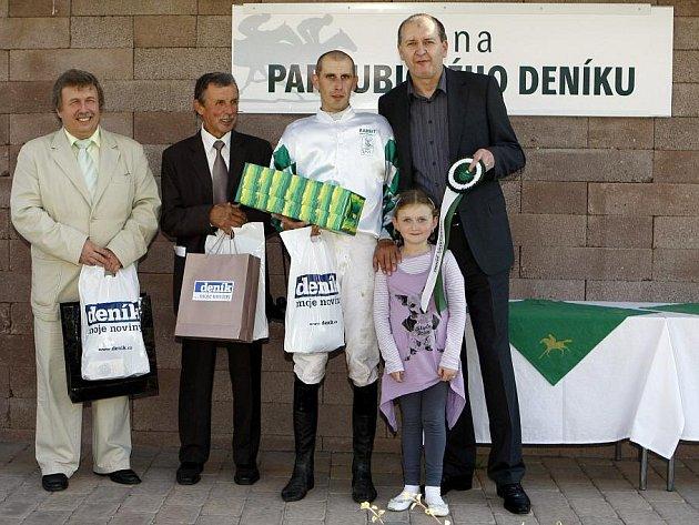 Cenu Pardubického deníku vyhráli Djabba se Šimůnkem.