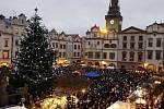 Vánoční strom Pardubice