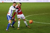 Fotbalová FORTUNA:LIGA: FK Pardubice - FK Mladá Boleslav.