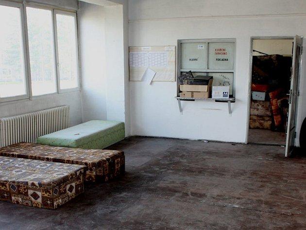 Nelegální ubytovna na Slovanech