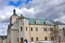Na pardubickém zámku je možné navštívit i kryt civilní obrany.