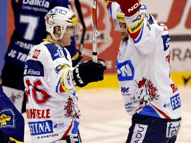 Pardubice porazily v dalším utkání hokejové extraligy Vítkovice 4:0.