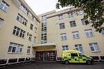 Budova Porodnicko-gynekologické kliniky v Pardubické nemocnici.