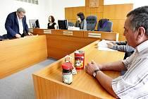 Jiří Havlíček (vpravo) se už léta soudí se svým bývalým zaměstnavatelem z Kolumbie. Ani včera rozsudek nepadl