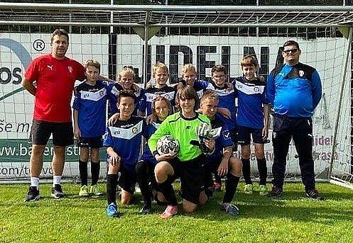 Výběr OFS Pardubice U12 na turnaji vÚstí nad Orlicí