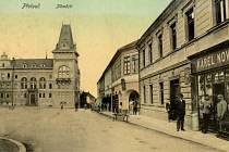 Historický snímek Přelouče.