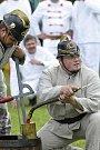 Setkání a závody koňských stříkaček v Mělicích