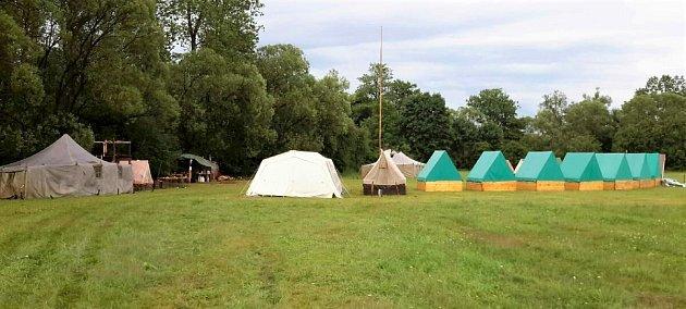 Evakuace dvou táborů vPardubickém kraji