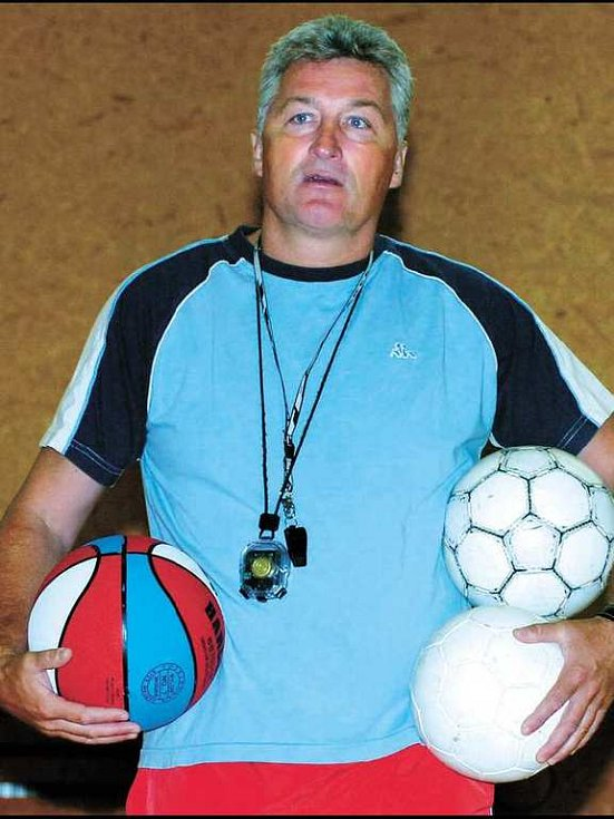 Trenér HC Moeller Pardubice Miloš Říha