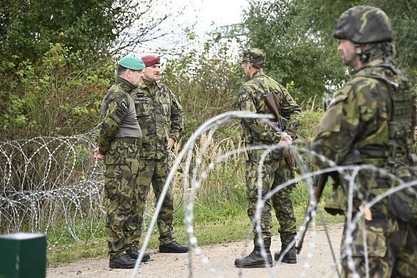 Vojáci aktivní zálohy zajišťovali ochranu a obranu objektů kritické infrastruktury.