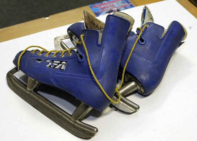 Historická hokejová výstroj