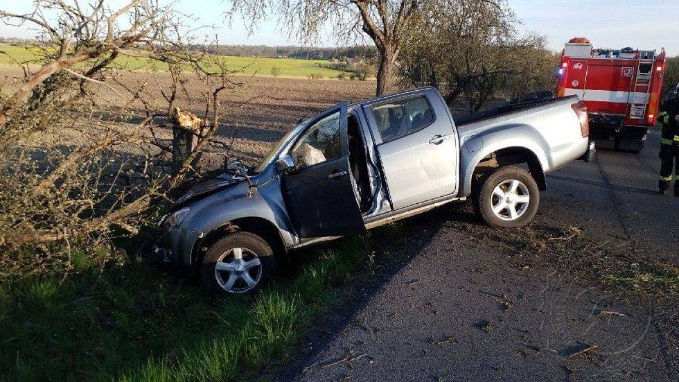Dopravní nehoda u Přelouče
