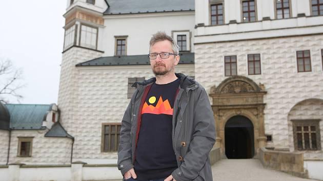 Ředitel Východočeského muzea Tomáš Libánek.
