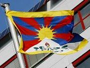 Na ostravské Nové radnici zavlála 10. března tibetská vlajka.