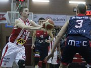 Kooperativa NBL: BK JIP Pardubice - egoé Basket Brno.