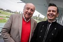 Felix Slováček a Jiří Ševčík