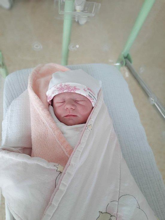 Šarlota Kučerová se narodila 23. 8. 2021 ve 12:26 hodin rodičům Aleně Vašákové a Ondřeji Kučerovi. Vážila 3500 g a měřila 52 cm.