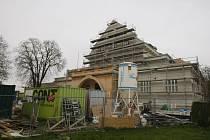 Pardubická sokolovna v rekonstrukci