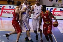 1. semifinále: Ariete Prostějov  – BK JIP Pardubice 71:49