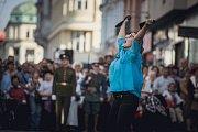 Podzimní městské slavnosti a Pardubice se ocitly v 1. republice.