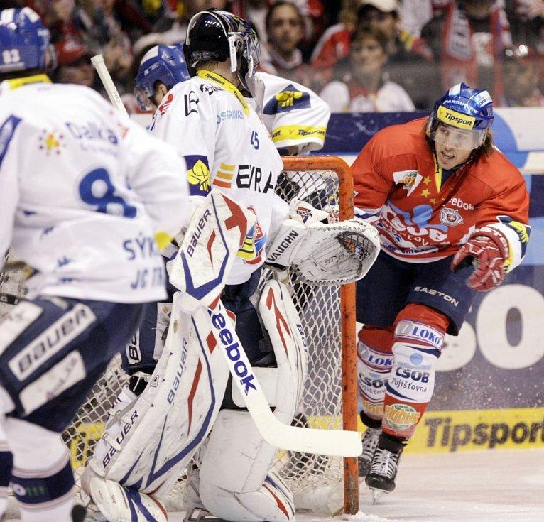 Pardubičtí hokejisté porazili Vítkovice v prodloužení.