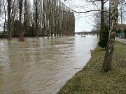 Povodeň v Platěnicích - rok 2006