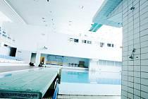 Skokanský bazén v pardubickém plaveckém bazénu