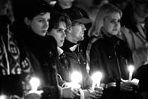 Snímky Evžena Báchora z doby sametové revoluce