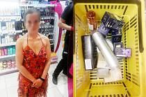 Žena kradla. Chytili ji dvakrát během několika hodin.