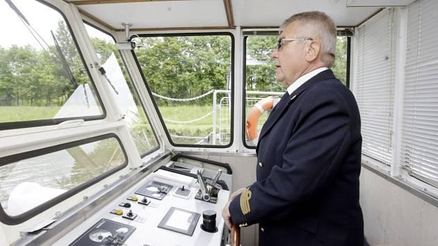 Nově zrekonstruovaná loď Arnošt z Pardubic zahájila novou sezónu