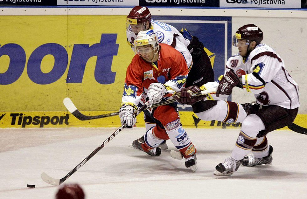 HC ČSOB Pojišťovna Pardubice – HC Sparta Praha 2:6