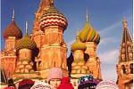 Folklórní soubor Radost v Moskvě